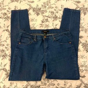 Forever 21 high waisted skinny jeans